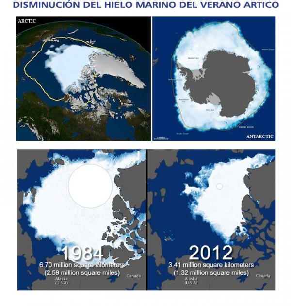 comparación polos antes y después