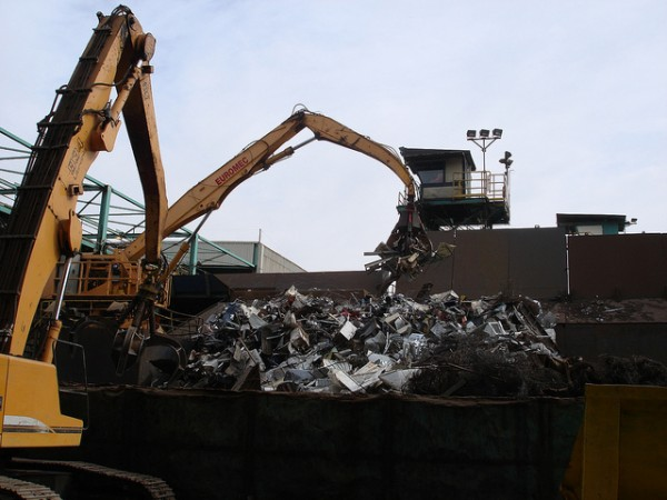 reciclaje acero