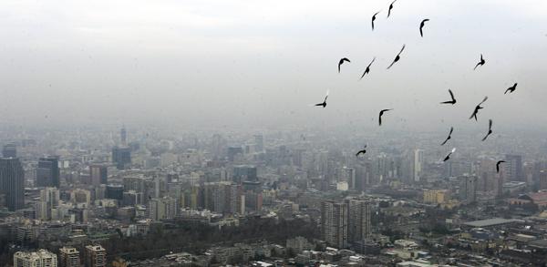 contaminación atmosférica urbana