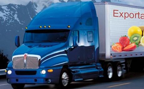 camión exportador